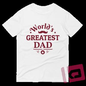 World's Greatest Dad T-shirt White