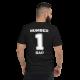 Number 1 Dad T-shirt Black