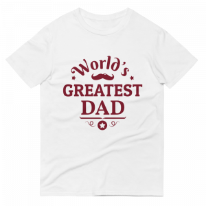 World's Greatest Dad T-shirt White